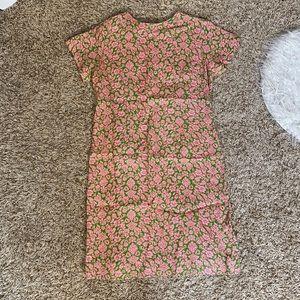 Vintage short sleeve dress